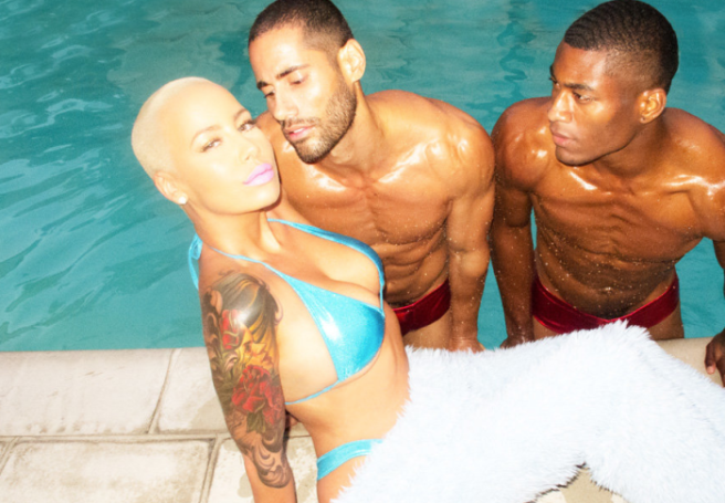 Amber Rose for Oyster